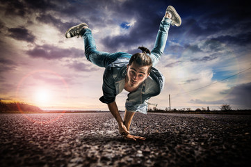 Danseur breakdance