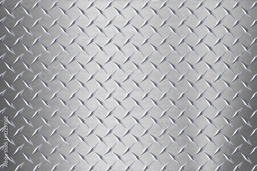 Foto op Canvas Metal background of metal diamond plate