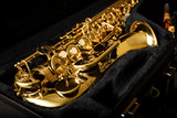 Fototapeta Saxophone detail