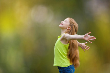child, kid, joy, faith, praise and happiness