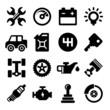 Auto Repair Service Icons - 82292246