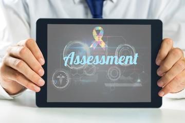 Assessment against medical biology interface in black
