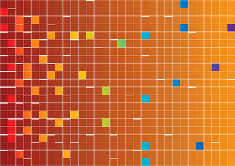 sfondo pixel arancione