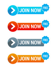 Join Now Free Button