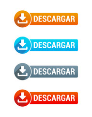 Download Buttons Spanish
