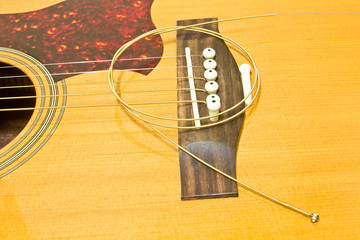 Acoustic guitar repair
