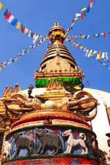 Stupa Swayambhunath, Kathmandu, Nepal