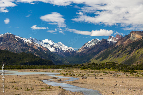 Tuinposter Canyon Beautiful mountain landscape of Patagonia. Argentina