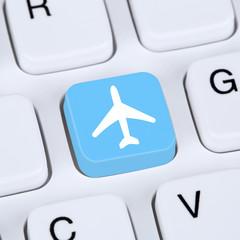 Internet Konzept Reisen und Urlaub online buchen E-Commerce eink