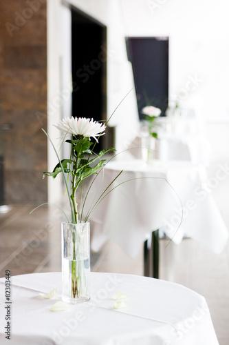 Foto op Aluminium Boord Tisch Deko Veranstaltung 4