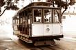 Leinwandbild Motiv Old tram