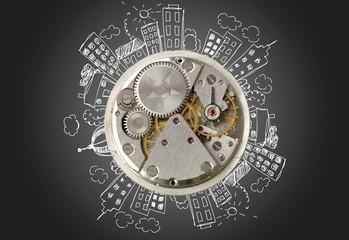 Clock. Alarm Clock