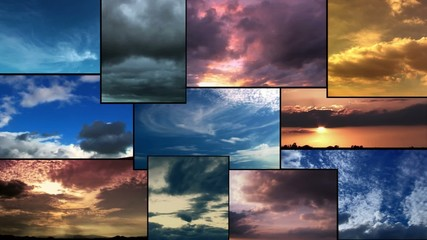 Nuages timelapse