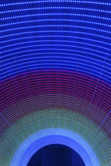 Color LED Tunnel