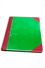 Green cover book
