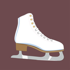Illustration of a skates
