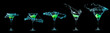 Martini glass collection - 82322819