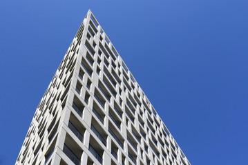 Fassade geometrisch, spitz