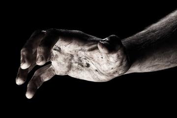 Aggression Male hand