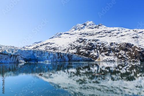 In de dag Gletsjers Glacier Bay, Alaska