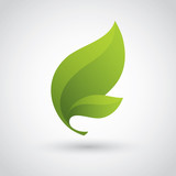 Green Leaf Icon - 82325251