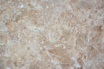 Brown and white marble pattern texture background.