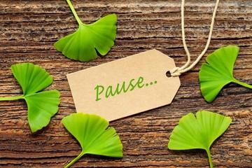 schild: pause