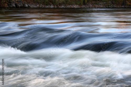 Poster reissender Fluss