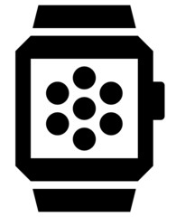 Apps in smartwatch icon