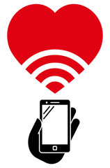 Love WiFi icon