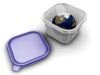 World in a box