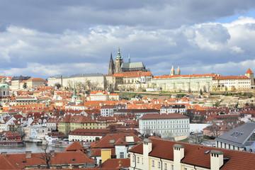 Praga quartiere Mala Strana e il Castello