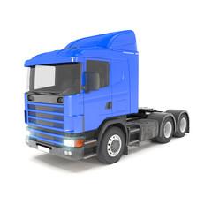 cargo truck - blue - shot 33