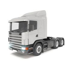 cargo truck - silver - shot 37