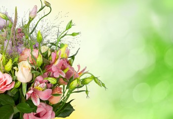 Mothers Day. Beautiful Bouquet