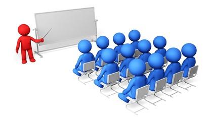 Teaching. 3D. Classroom