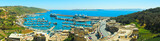 MGARR, MALTA - APRIL 14, 2015: Panorama view on Mgarr port with