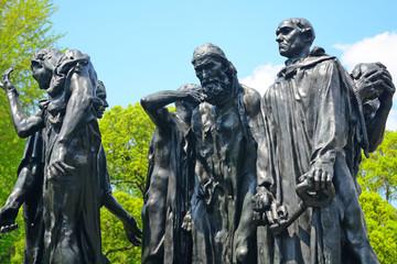 Rodin: The Burghers of Calais, Tokyo, Japan