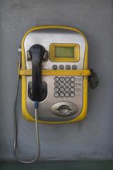 Public phone secured