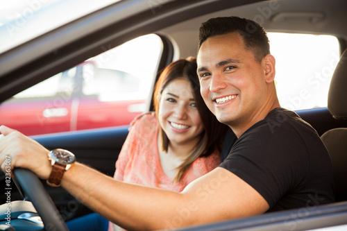 Pretty couple in love - 82363087