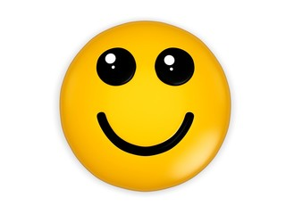 Cool. 3D. Smiley 02