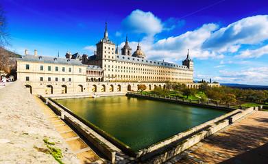 El Escorial. General vew of Royal Palace
