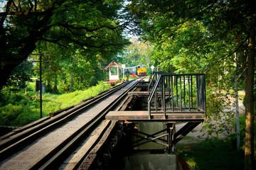 Train coming The Bridge of the River Kwai