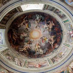 Kuppel in den Vatikanischen Museen