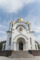 Church of St.George Victorious in Samara. Russia