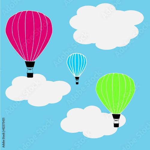 Zdjęcia na płótnie, fototapety, obrazy : hot air baloons