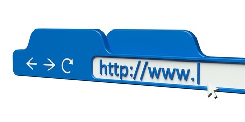 Web Page. 3D. Address Bar