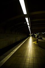Train Metro Tunnel