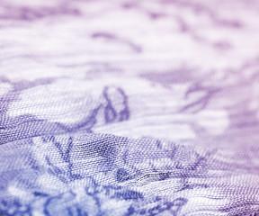 Colored soft silk