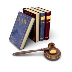 Justice. 3D. Court Gavel II